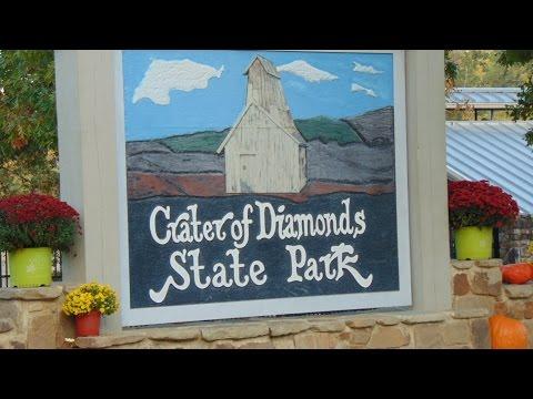 Crater of diamonds state park Arkansas October 2015 trip