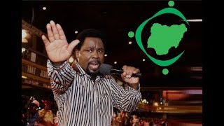 NIGERIA MAY BREAK  SAYS TB JOSHUA IN  2019 ELECTION PROPHECY