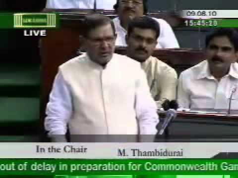 sharad yadav in loksabha complete speech with corrected video