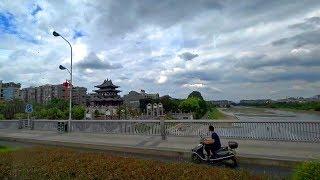大陸廣西桂林離開戴斯酒店往東西巷 To East West Street, Guilin Guangxi (China)