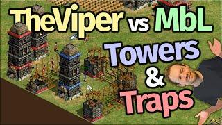 TheViper vs MbL! Towers & Traps!