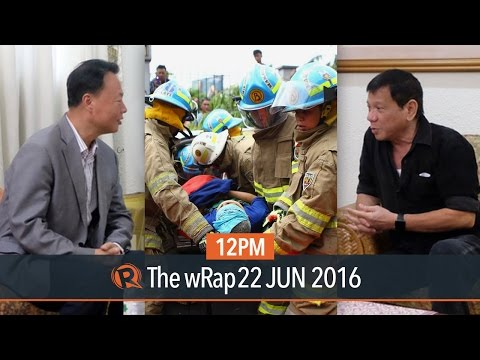 Abu Sayyaf, MMShakedrill, Manila-Clark railway | 12PM wRap