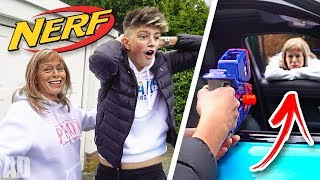 We had a NERF WAR & this Happened... (You Won't Believe It)