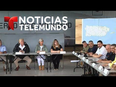 EN VIVO: Trump y Melania llegan a Puerto Rico 13 días después del paso del huracán Maria