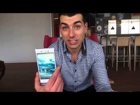 Sony Xperia M4 Aqua - Demo en el MWC 2015
