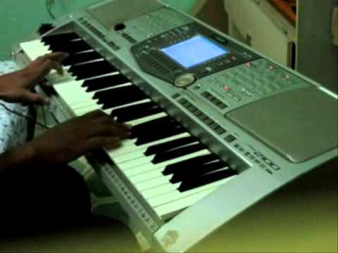 ab mujhe raat din on piano