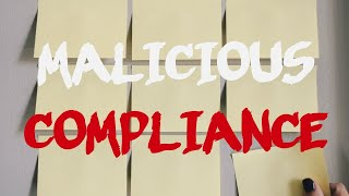 r/MaliciousCompliance | fresh | STORY TIME ep. 29