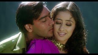 Ajay Devgn In Love With Manisha | Kachche Dhaage Movie Scene