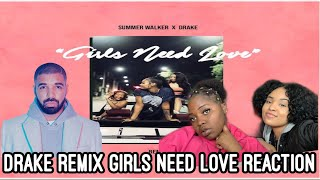 Summer walker - Girls Need Love  Remix (with Drake) REACTION!!!
