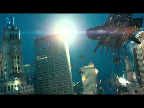 Transformer 3 - Decepticons attacks Chicago