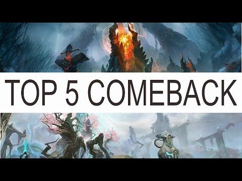 Top 5 Comeback in Dota 2 History