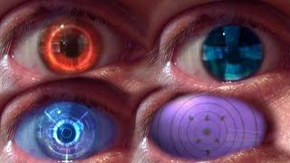 REAL LIFE Anime Eyes #3 (Rinnegan, Emperor, Alpha Stigma)