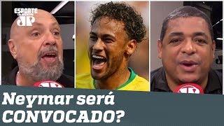 """Neymar será convocado? """"Alguma dúvida? O Tite é BABA-OVO dele!"""" Veja DEBATE!"""
