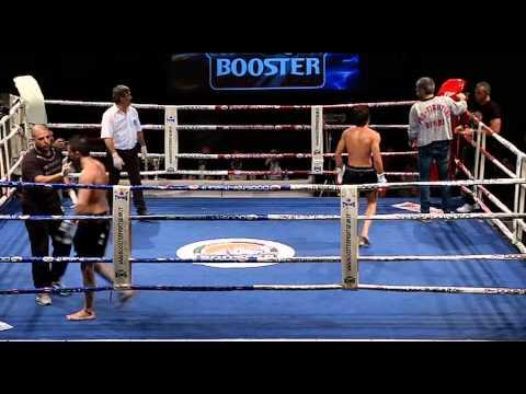 Luciano De Maio VS Aldo Solferini, parte 2, Titolo italiano muay thai pro  58,2 kg,  Extreme fight 8