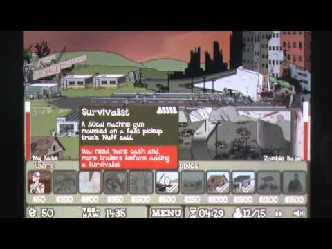 Zombie Trailer Park iPhone Gameplay Review - AppSpy.com