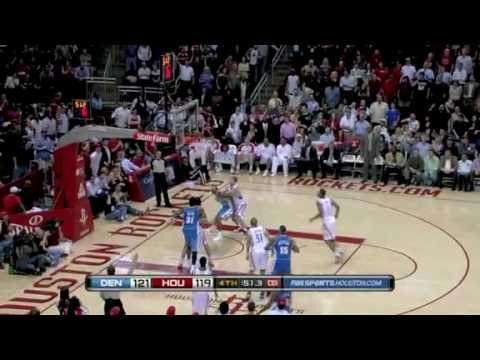 Houston Rockets-Denver Nuggets 3-15-2010 NBA Highlights