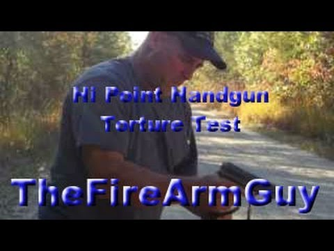 Hi Point Handgun Torture Test - TheFireArmGuy