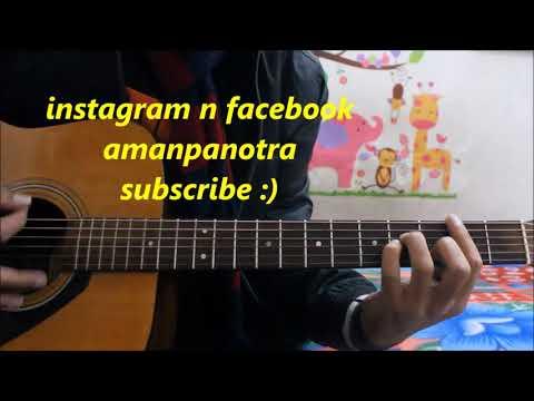 Sun Le Zara - Romantic Song - 1921 - Easy Hindi Guitar Lesson cover ...