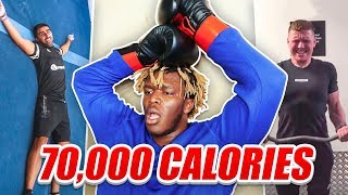 SIDEMEN BURN 70,000 CALORIES IN 24 HOURS CHALLENGE