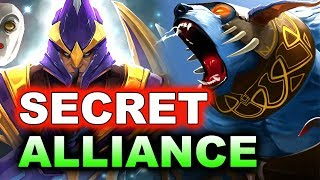 SECRET vs ALLIANCE - LVL 1 ROSH! - KL MAJOR DOTA 2