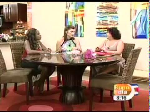 Iside Sarmiento Feng Shui Entrevista en vivo en buen día de Canal 7 Costa Rica 13 09 11.mpg