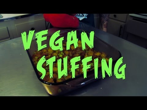 Vegan Stuffing – Cooking with The Vegan Zombie