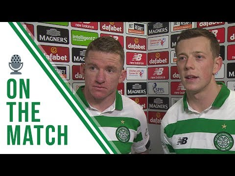 Hayes and McGregor on the Match  Celtic 2-0 Motherwell  Hoops stay top with comfortable win