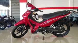 All New Honda Wave 110i Red