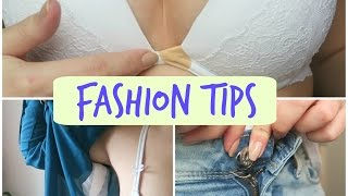 FASHION TIPS| Tips And Hacks That Every Woman Should Know