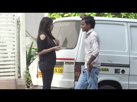 Girl Approaching Strangers In India - Funk You video