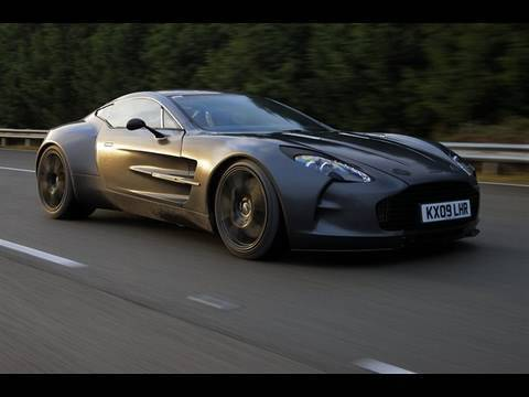 Aston Martin One-77 supercar in action - autocar.co.uk