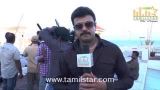 Riaz Khan At Vilayattu Aarambam Shooting Spot