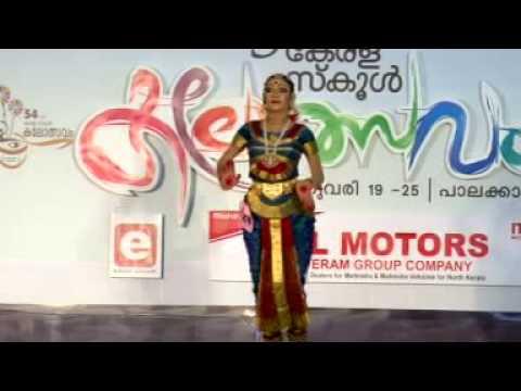 54th Kerala School Kalolsavam  Bharathanatyam Hs Grils First Meennakshi Muralidaran Lsn Ghss Ottpm video