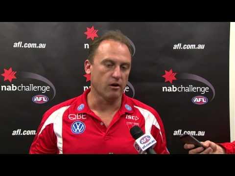 SwansTV: Longmire post-match NAB1