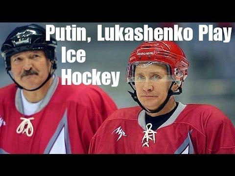 Putin & Belarusian President Play Ice Hockey in Sochi   2014 Winter Olympics, Russia