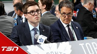 Any surprise Leafs' first round pick is in play?