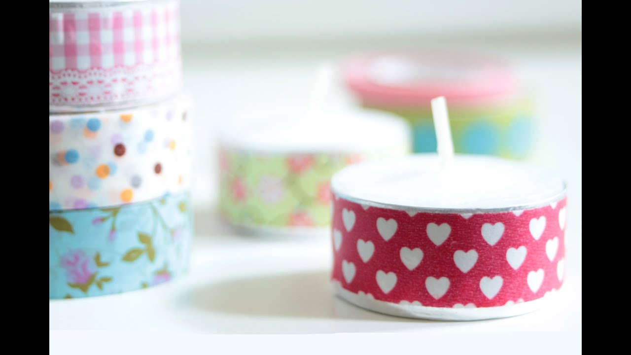 9 ideas how to use washi tape youtube for How do you use washi tape