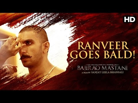 Ranveer Goes Bald For 'Bajirao Mastani'