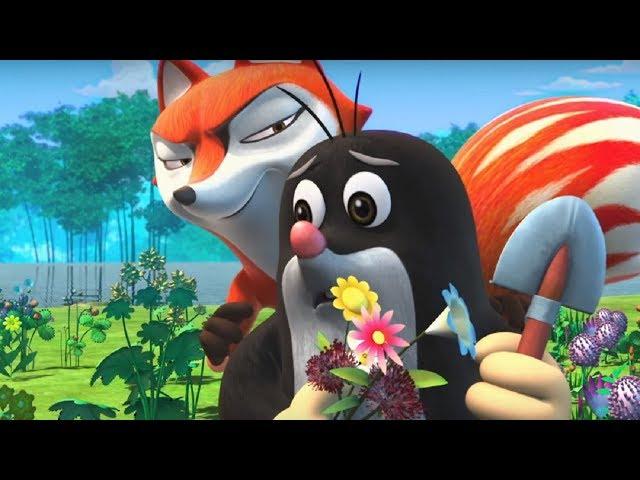 Кротик и Панда -Лопата Кротика  - серия 34- развивающий мультфильм для детей