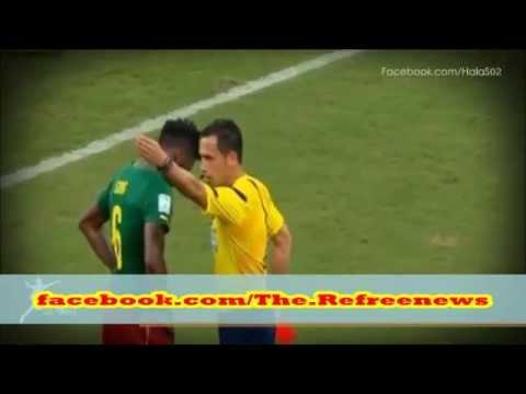 ضرب اللاعب سونغ للاعب المنتخب الكرواتي