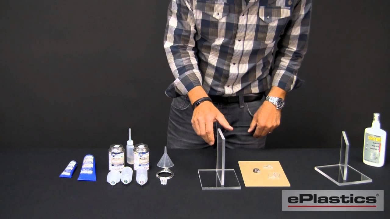 How To Glue Acrylic Plexiglass Youtube
