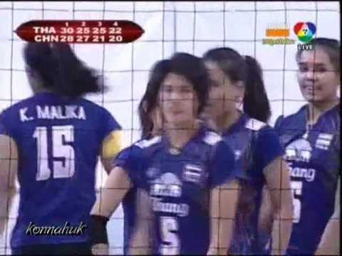  Thailand vs China Finals AVC 2012