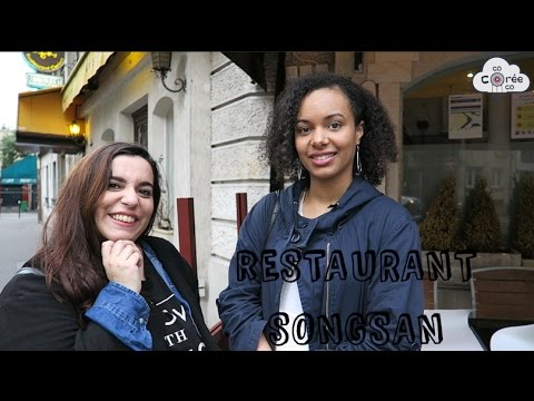 Restaurants Coréens à Paris #2 - Songsan Paris 15e arrondissement [ENG SUB]