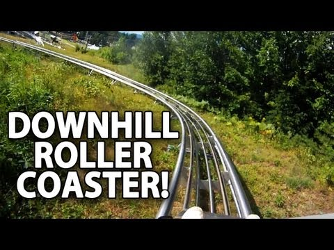 Downhill Alpine Coaster!