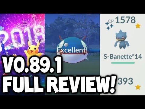 FULL BREAKDOWN/REVIEW of Pokémon GO UPDATE V0.89.1 + Datamine! (New Pokémon GO Update!)
