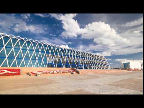 Central Asia, Kazakhstan, Astana, Palace of Independence timelapse hyperlapse