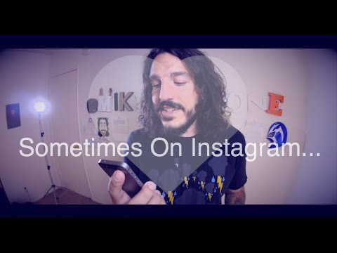 Sometimes On Instagram... (by @mikefalzone)