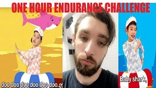 Baby Shark Song One Hour Endurance Challenge!