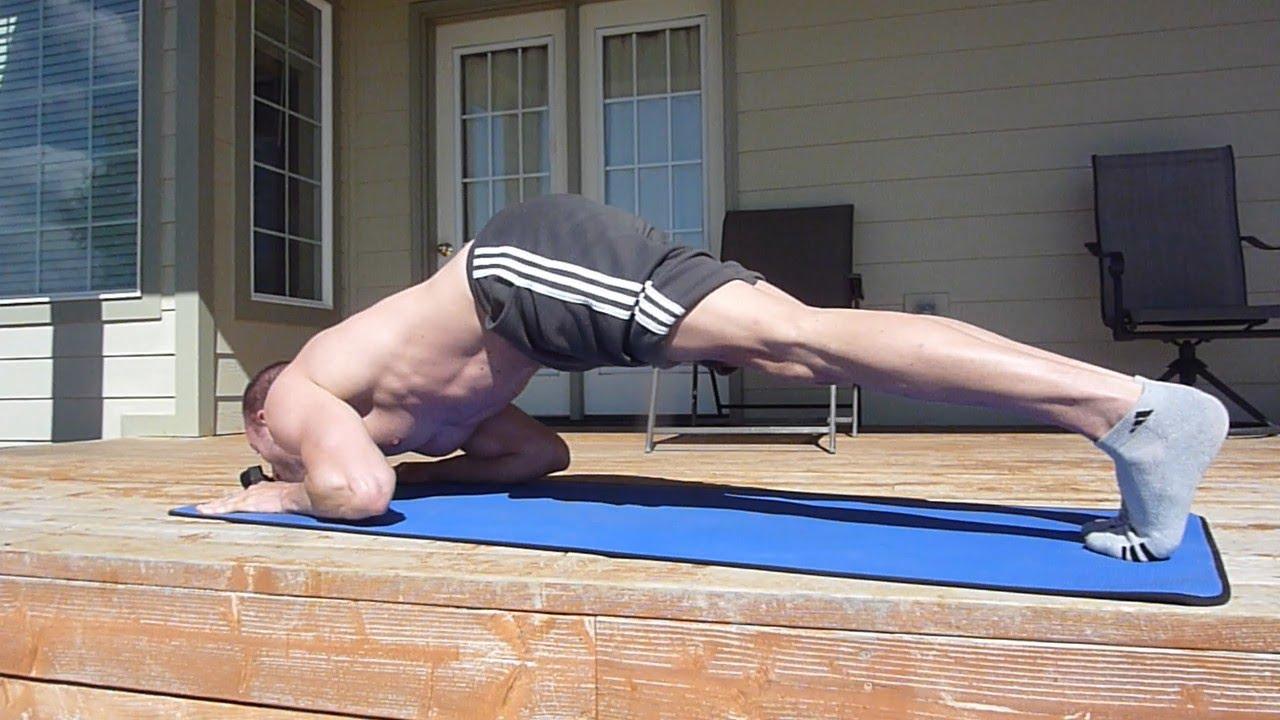 Basic home workout no equipment calisthenics training