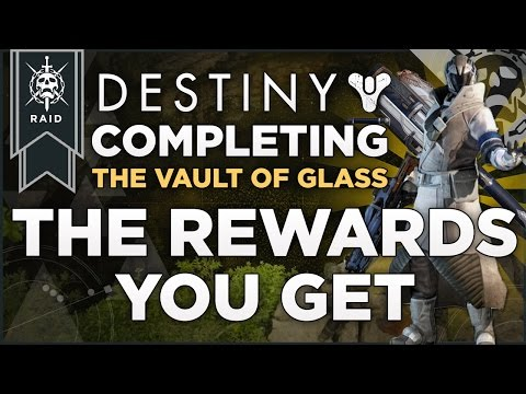 Of glass raid the first reward is the chatter white legendary shader